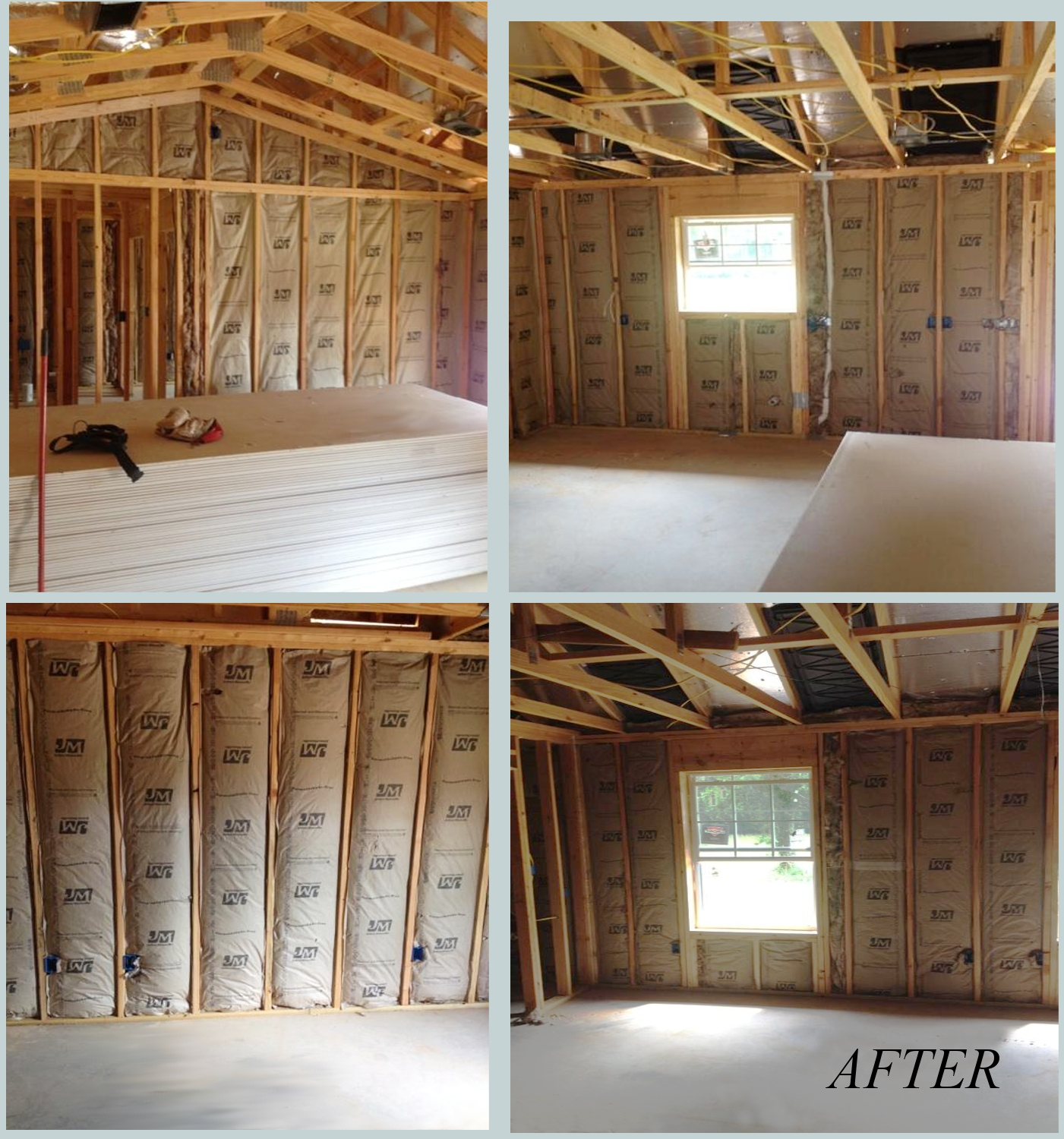 Before And After Texarkana Tx Superior Home Insulation